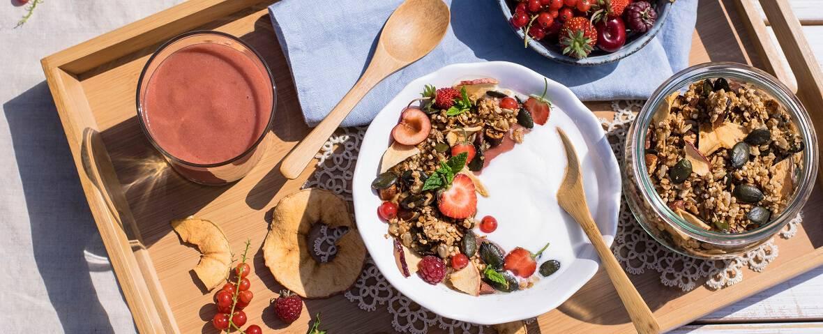 Kürbiskern-Granola selber machen